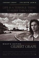 WHAT'S EATING GILBERT GRAPE Movie POSTER 11x17 Johnny Depp Leonardo DiCaprio