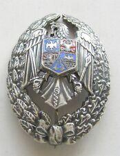 i190 Romania Officers Badge Graduation Military Academy 2000 medicine doctor RRR