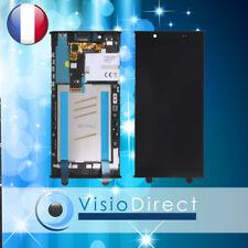 Vitre Tactile Écran LCD sur Chassis pour Sony Xperia L1 Noir G3311 G3312 G3313