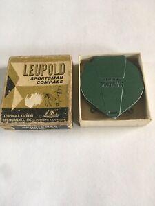 Vintage 1950's Leupold & Stevens Sportsman Compass