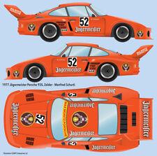 Jagermeister Porsche 935 Water Transfer Decals 1/20 scale for Tamiya