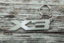 BMW X3 keychain E83 G01 F25 auto car keyring stainless steel Schlüsselanhänger