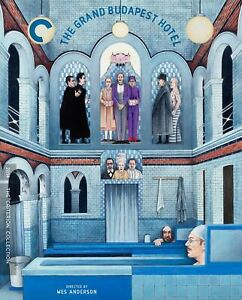 The Grand Budapest Hotel Blu-ray Criterion Collection Special Edition New