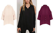 Unbranded Women's Hip Length Tops & Shirts