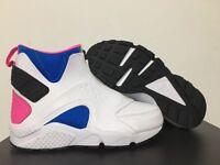 the best attitude c0db5 64d96 WMNS Nike Air Huarache Run Mid Samples White Blue Pink SZ 7  807313-100