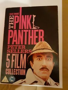 Pink Panther 5 Film Collection  DVD Box Set - Peter Sellers  Inspector Clouseau