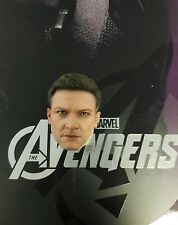 1/6 Hot Toys The Avengers Hawkeye MMS172 Head Sculpt *US Seller*
