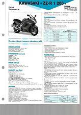 kawasaki ZZR zzr 1200 de 2002   fiche technique revue technique moto etai ETAI