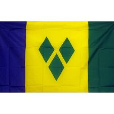 St Vincent Country flag Banner Sign 3' x 5 Foot Polyester Grommets