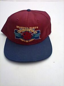 Vintage 1995 79th Indianapolis Indy 500 Snapback Hat Crowell Cap made in USA