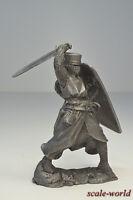 Tin soldier, figure. Templar, 12th century. 54 mm