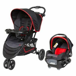 Baby Trend EZ Ride Travel System stroller + car seat, Mars Red. Ships today