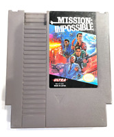 Mission Impossible ORIGINAL NINTENDO NES GAME Tested ++ WORKING & ++ AUTHENTIC!!