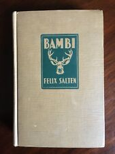 BAMBI BY FELIX SALTEN Second Edition 1929