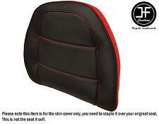 STYLE 2  RED BLACK VINYL CUSTOM FOR HONDA GOLDWING GL 1500 88-00 BACKREST COVER