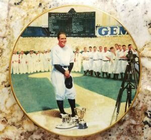 The Legends of Baseball DELPHI 1993 LOU GEHRIG > THE LUCKIEST MAN ( MINT )