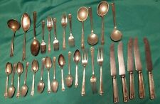 New Listing31 Pieces-Holmes & Edwards Inlaid Silverplate Flatware Century 1923-Mixed Lot