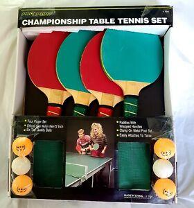 Vintage Wilson Championship Quality TABLE TENNIS SET Complete! Pro Sport Set.