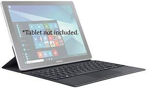"""Original Samsung Galaxy Book Keyboard Cover 12"""" - Gray (EJ-CW720UBE)"""