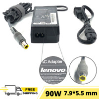 90W Lenovo OEM Adapter Charger - Thinkpad Laptop T410si  T420 T420s T430 w/cord