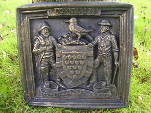 Cornish Cornwall perfect gift xmas coat of arms shield Crest garden home wall de