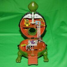 New ListingTmnt Mini Mutants Leonardo's Leo Lair Playset Teenage Ninja Turtles 1994 Micro
