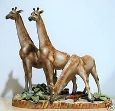 RARE Guido Cacciapuoti Limited Ed Giraffe Figural Group