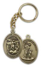 Catholic Saint Michael Catholic Pendant Key Chain  /  Ring