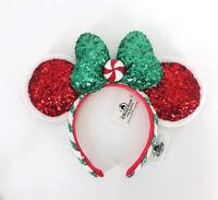 Candy Cane Disney Parks 2020 Peppermint Christmas Ears Disneyland Headband
