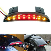 Smoke Rear LED Tail Light Brake Stop Lamp For Motorcycle Bobber Chopper hot