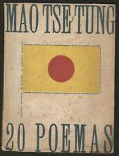 Mao Tse Tung Book 20 Poemas 1962 Compañia Argentina De Editores
