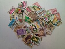 Collection lot 100 different stamps of Malaysia