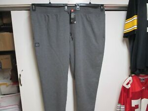 UNDER ARMOUR (COLD GEAR) FLEECE SWEATPANTS (5XL) NWT $45 GRAY WARM TAPERED LEGS