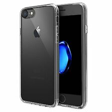For Apple iPhone 7 Case Silicone Clear Cover Bumper Rubber Protective Shockproof