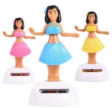 2 X Dancing solar Hula Girls ~ Stocking Filler -Christmas - dashboard - Free P&P