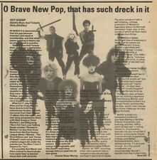 21/11/81PGN40 ALBUM REVIEW & PICTURE : HOT GOSSIP GEISHA BOYS AND TEMPLE GIRLS
