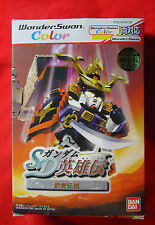 SD Gundam Eiyuuden Musha Densetsu + card - SWJ-BANC0B - Bandai WonderSwan Color