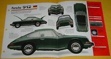 1965 1966 1968 1969 1967 Porsche 912 4 Cylinder 1582cc IMP Info/Specs/photo 15x9