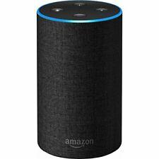 Amazon Echo (2nd Generation) Smart Assistant - Charcoal Fabric (Open box)