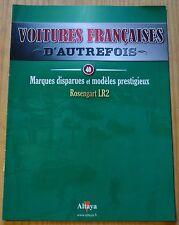 Voitures françaises d'autrefois, Altaya, n°40, Rosengart LR2