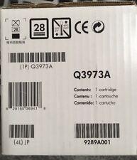 HP Q3973A Magenta Toner Cartridge GENUINE NEW