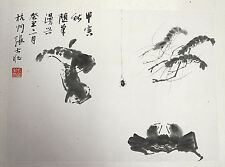 Chinese  Water  On  Paper  Painting   19