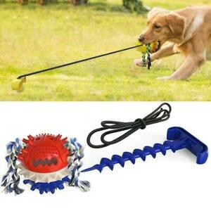 Outdoor Pet Training Rope Ball Funny Training Toy Chew Toys Rope Carrier