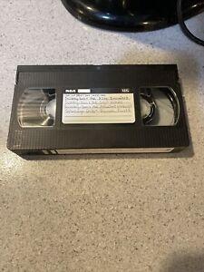 RARE SOLD AS BLANK VHS RECORDED COMMERCIALS CARTOON NETWORK SCOOBY DOO SPONGEBOB