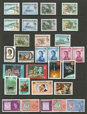 DOMINICA SMALL COLLECTION OF MIXED UNMOUNTED MINT AND USED FROM 1963