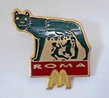 PINS - ROME MAC DO - Mac Donald's au dos  Arthus Bertrand