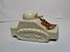 WW1 Crested Ware French Tank Great Yarmouth Tank Arcadian Pottery