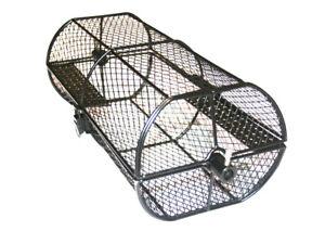 SunshineBBQs BBQ Rotisserie Spit Roast Cage Tumbler Basket Attachment