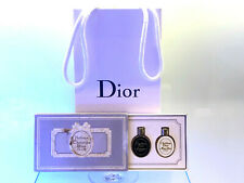 50's rare VINTAGE Dior Miss Dior Diorama Diorissimo PARFUM mini bottles Tablets