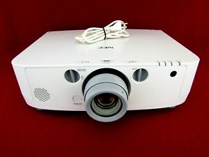 NEC NP-PA550W WXGA 3LCD HDMI Projector w/ Power Cord